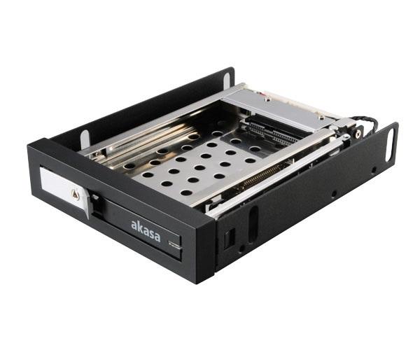 "AKASA Lokstor M25 - 2,5"" HDD rack do 3,5"""