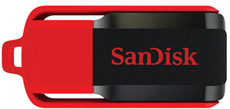 SanDisk Cruzer SWITCH 16GB USB 2.0 flashdisk