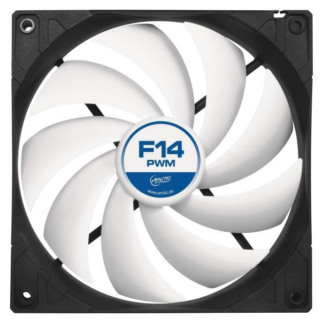 ARCTIC F14 PWM ventilátor, 140x140x27 mm, 4pin, 12V