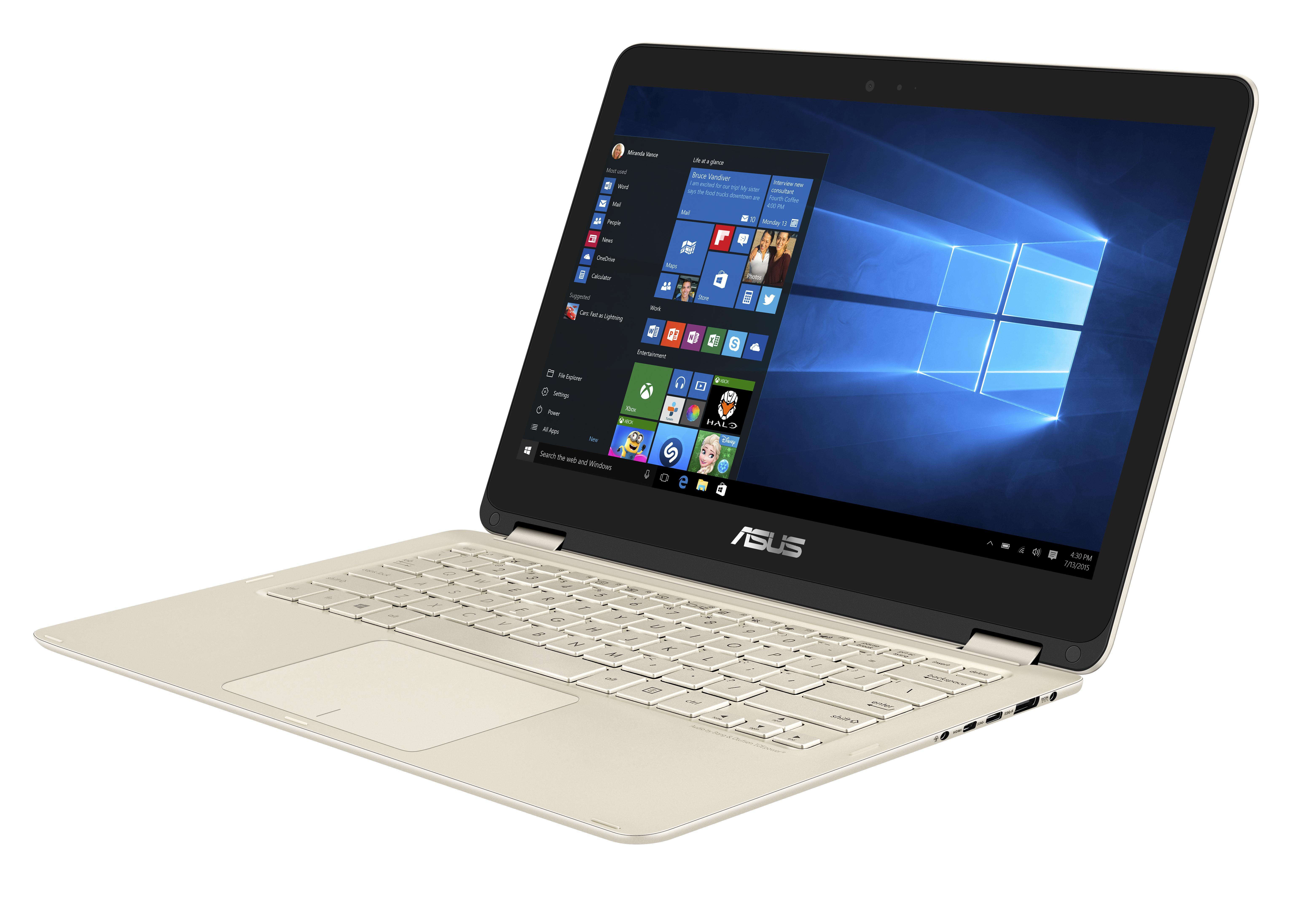 ASUS UX360CA 13.3T/6Y30/256SSD/8G/W10 zlatý