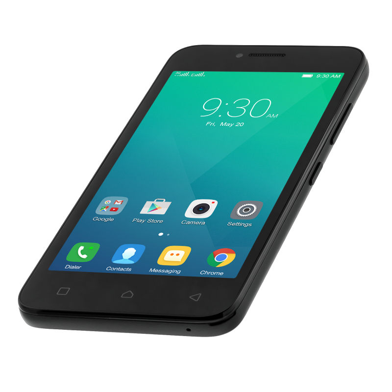 "Lenovo Smartphone A Plus Dual SIM/4,5"" TN/800x480/Quad-Core/1,3GHz/1GB/8GB/5Mpx/3G/Android 5.1/Black"