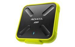 ADATA SD700 externí SSD 256GB USB 3.1 3D TLC (čtení/zápis: 440/430MB/s) žlutá