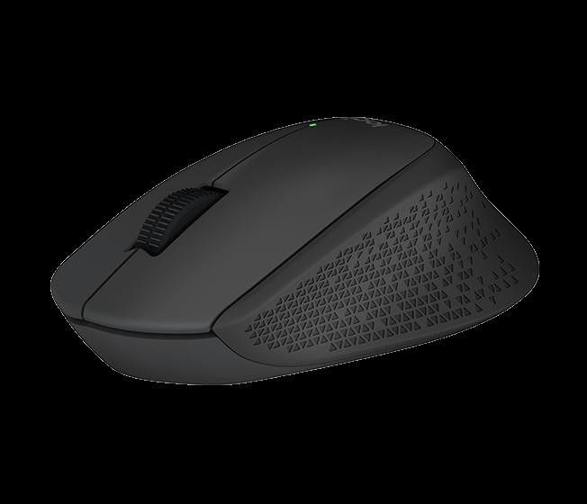Logitech myš Wireless Mouse M280 , černá, výdrž 18 měs., Nano přijímač