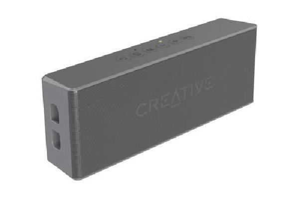 Creative repro Muvo 2 mobilní vodovzdorný bezdrátový reproduktor - šedý