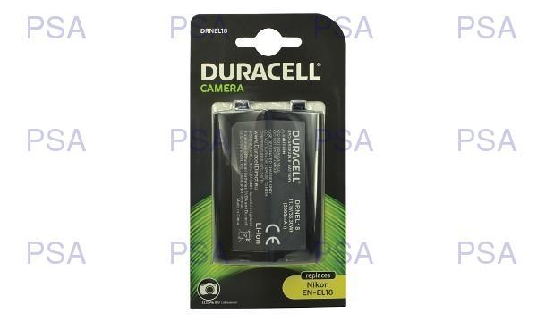 DURACELL Baterie - pro digitální fotoaparát nahrazuje Nikon EN-EL18, 11,1 V, 3000 mAh