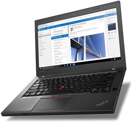 """Lenovo ThinkPad T460p i5-6300HQ/8GB/256GB SSD/HD Graphics 520/14""""FHD IPS/Win10PRO/Black"""
