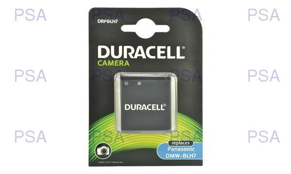 DURACELL Baterie - pro digitální fotoaparát nahrazuje Panasonic DMW-BLH7E, 7,4 V, 700 mAh