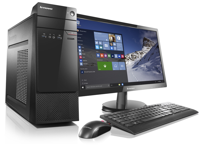 Lenovo PC SMB S510 i3-6100/4GB/256GB SSD/HD Graphics/DVD-RW/tower/Win10PRO