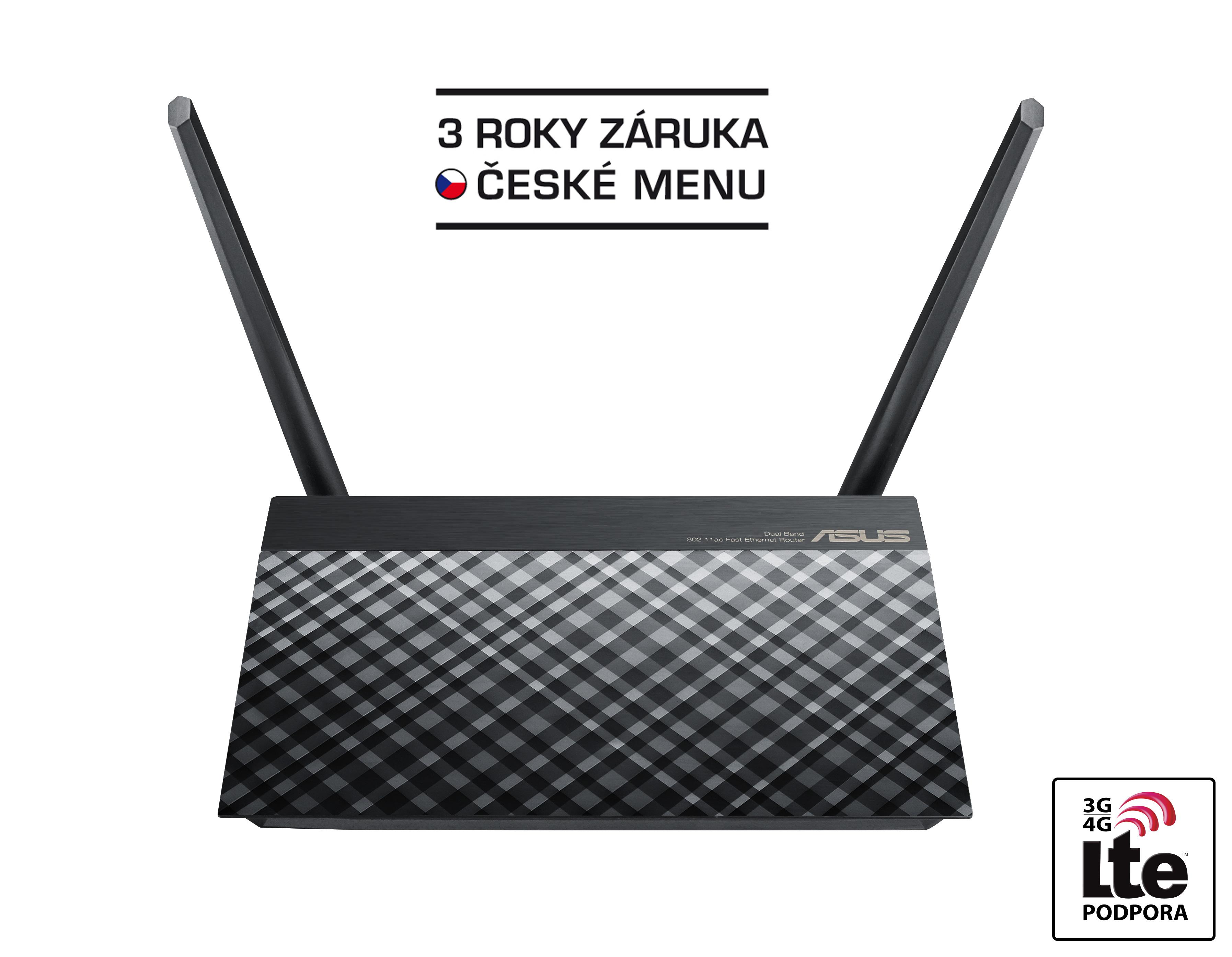 ASUS RT-AC750, Špičkový dvoupásmový bezdrátový router AC750 pro domácnosti i cloudové využití