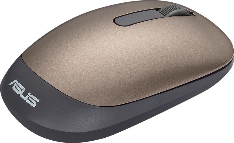 ASUS WT205 myš zlatá