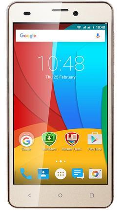 "PRESTIGIO MultiPhone Wize P3 - 3508 DUO, 5""IPS, DualSIM, Android 5.1, Quad Core 1,2GHz, 1GB RAM, 8GB ROM, 8+2Mpx, zlatý"