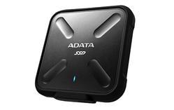 ADATA SD700 externí SSD 256GB USB 3.1 3D TLC (čtení/zápis: 440/430MB/s) černá