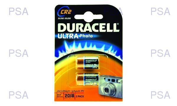 DURACELL Baterie - CR2 3V Lithium Battery, 3 V - 2 Pack