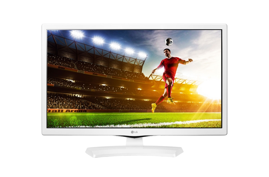 "24"" LG LED 24MT48DW - HD Ready, 16:9, HDMI, SCART, CI slot, DVB-T/C, repro."