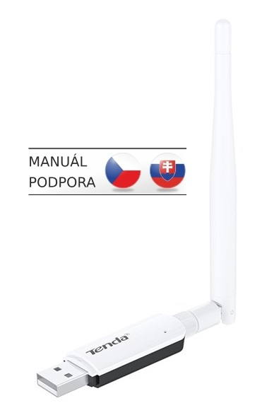 Tenda U1 Wireless-N USB Adapter, 300Mb/s, 3,5dBi
