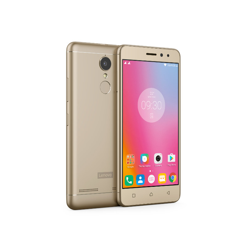 "Lenovo Smartphone K6 Power Dual SIM/5,0"" IPS/1920x1080/Octa-Core/1,4GHz/2GB/16GB/13Mpx/LTE/Android 6/Gold"