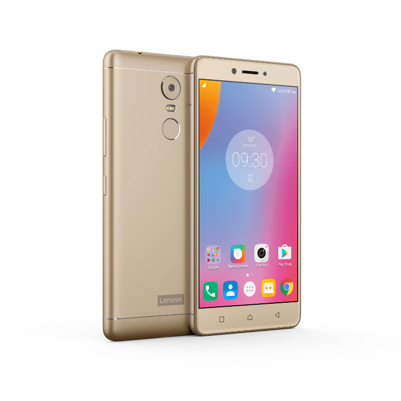 "Lenovo Smartphone K6 Note Dual SIM/5,5"" IPS/1920x1080/Octa-Core/1,4GHz/3GB/32GB/16Mpx/LTE/Android 6/Gold"