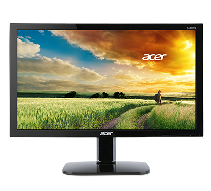 Acer LCD KA270HAbid 27'' VA LED 1,920 x1,080 /ZeroFrame/100M:1/4ms/300cd/ACM/DVI/HDMI/MPRII/EcoDisplay/Black