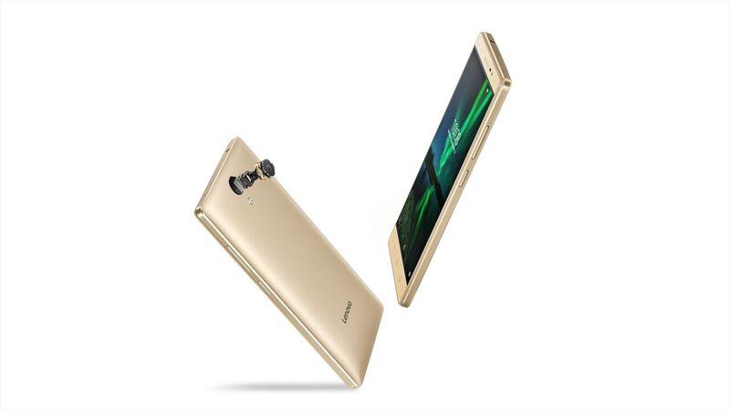 "Lenovo PHAB 2 MT873 4C 1,30GHz/3GB/32GB+microSD/6,4"" HD/IPS/8MP+5MP foto/GSM dualSIM/4G/Android 6.0 zlatá ZA190023CZ"