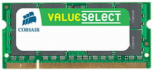 Corsair 2GB 667MHz DDR2 CL5 SODIMM (pro NTB)