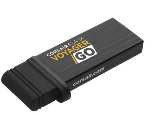 Corsair Flash Voyager GO OTG 32GB, USB 3.0 + micro USB, černý
