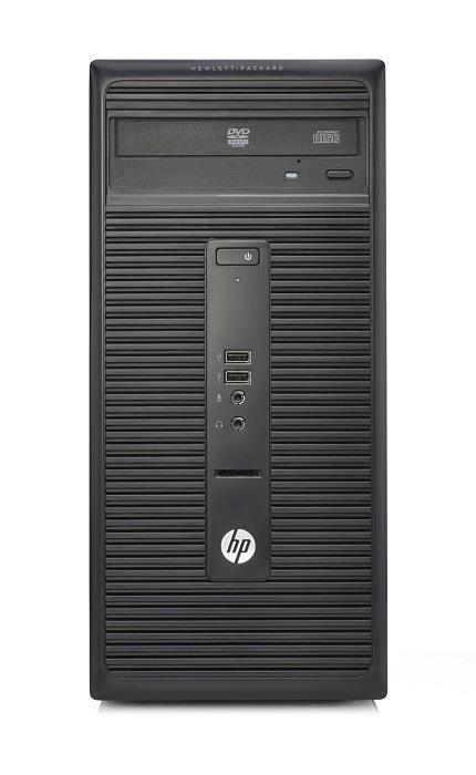 HP 280G2 MT, G3900, 1x4GB, 500GB, Intel HD, usb klávesnice a myš, DVDRW, 180W, Win10Pro DWN7