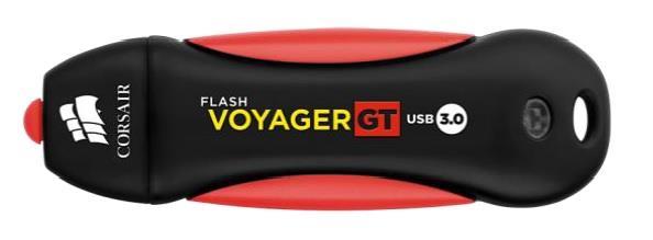 Corsair Flash Voyager GT USB3.0 256GB, gumový povrch, vodě odolný, 230/160MB/s