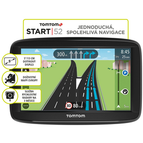 TOMTOM START 52 Regional LIFETIME mapy