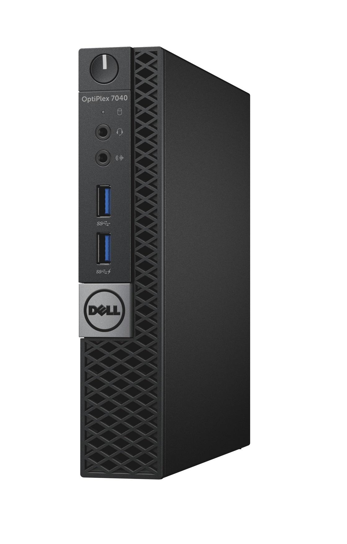 DELL OptiPlex MFF 7040 i5-6500T/8GB/500GB/Intel HD 530/Win 10 Pro/3Yr