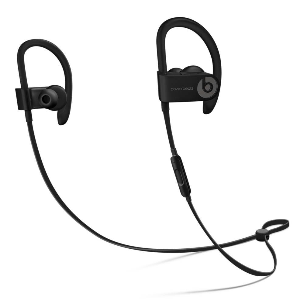 Apple Beats Powerbeats 3 Wireless In-Ear Headphones - Black