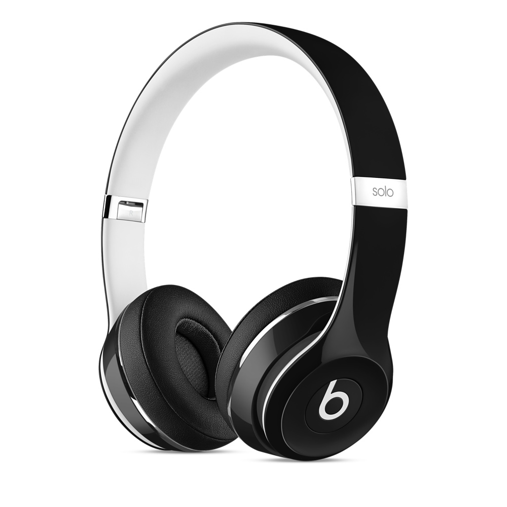 Beats Solo2 On-Ear Headphones Luxe - Black