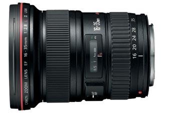 Canon EF 16-35 mm f/2.8LII USM