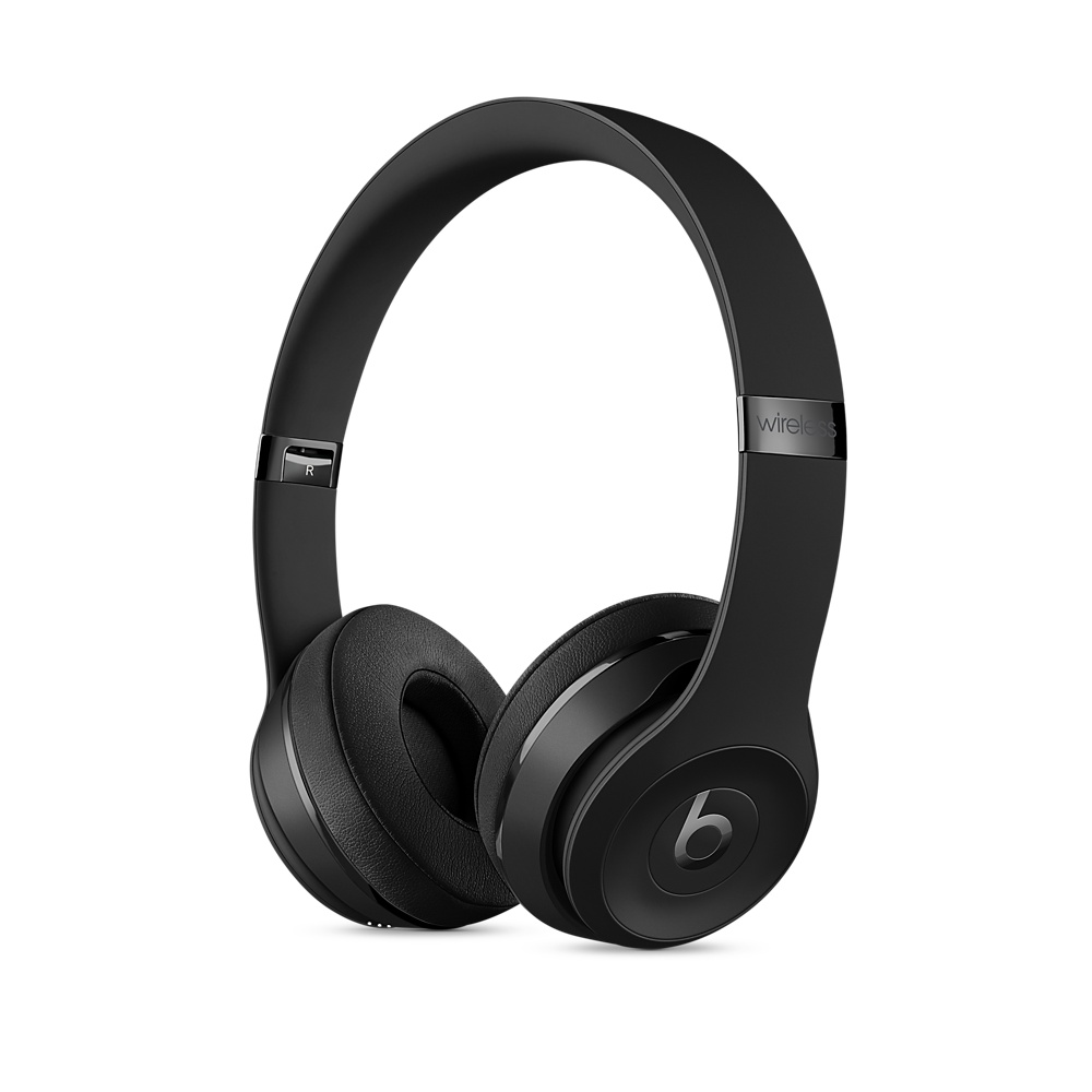 Apple Beats Solo 3 Wireless On-Ear Headphones - Black