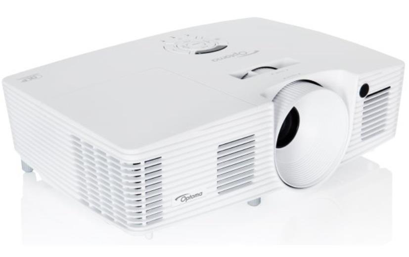 Optoma projektor W402 DLP Projector - Full 3D WXGA (4500 ANSI, 20000:1,16:10 N, 16:9/4:3 C)