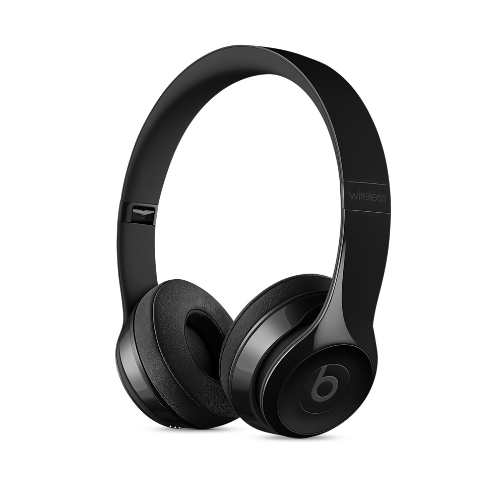 Apple Beats Solo 3 Wireless On-Ear Headphones - Gloss Black