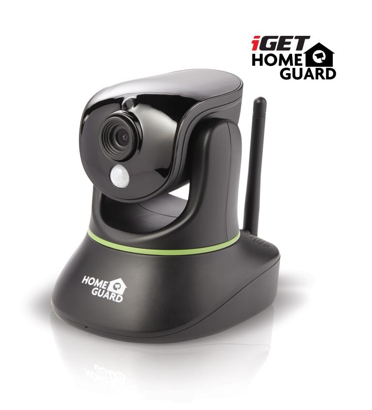 iGET HGWIP720 - WiFi rotační IP HD 720p kamera, FTP, Email, noční vidění, microSD slot, PIR senzor