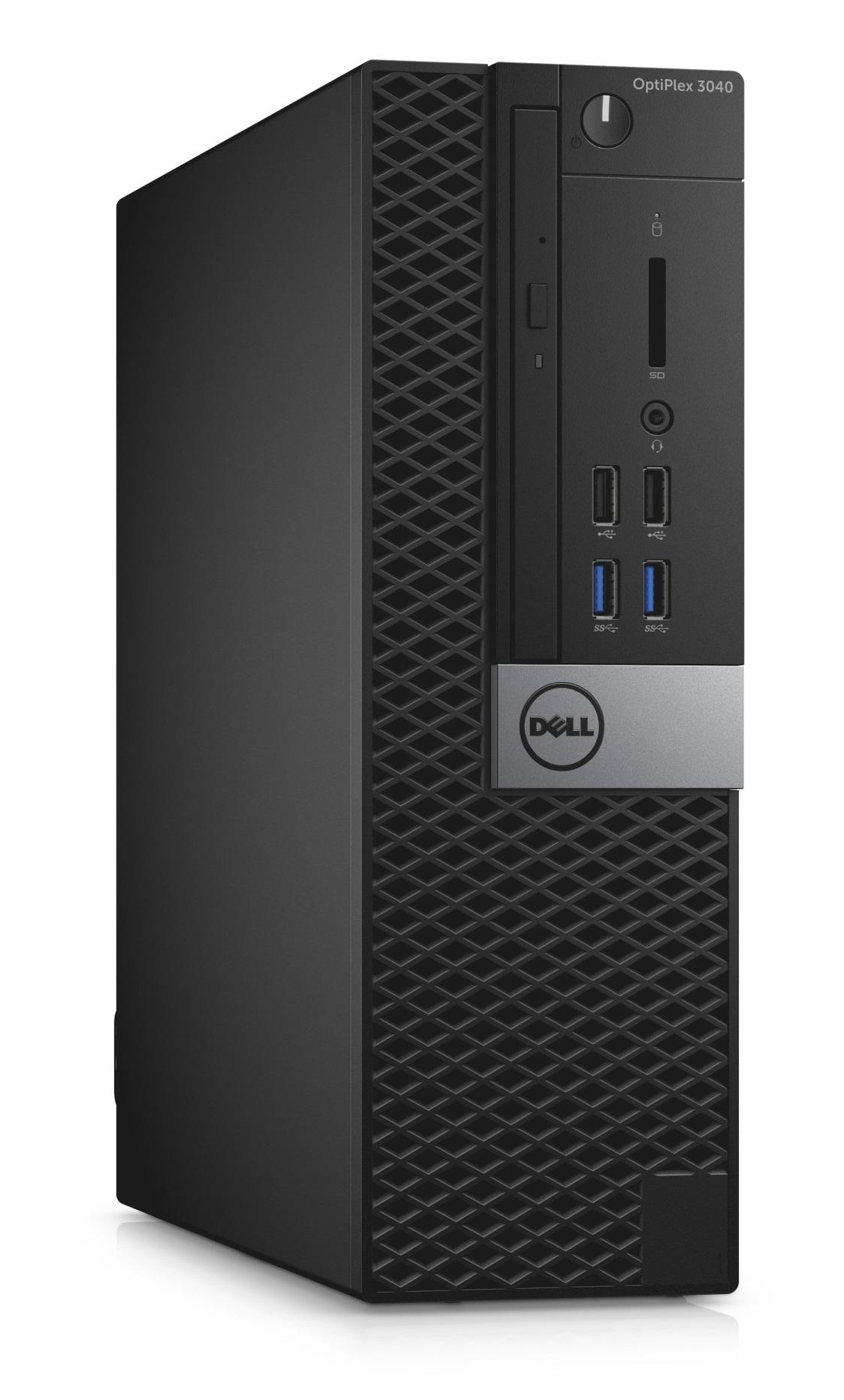 Dell Optiplex 3040S i3-6100/4GB/128GB SSD/Intel HD/HDMI/DP/USB/RJ45/DVD-RW/W7P+W10P/3RNBD/Černý
