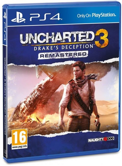 PS4 - Uncharted 3: Drake's Deception
