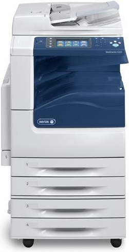 Xerox WC 7200, A3, Duplex, Copy/Print/Scan, 4 tray