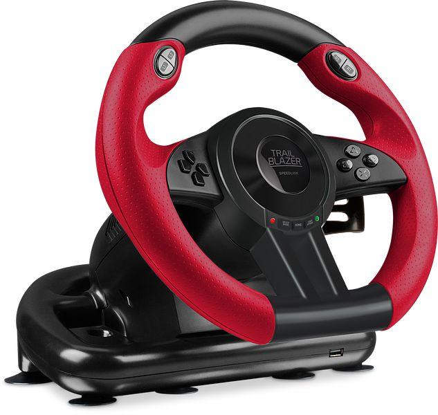 TRAILBLAZER Racing Wheel for PS4/Xbox One/PS3