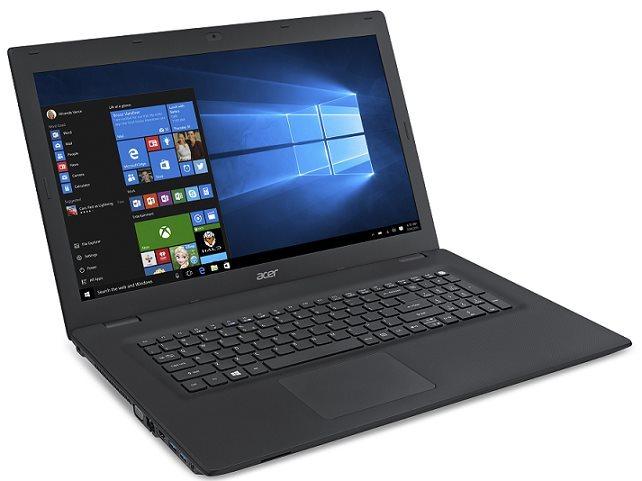 """Acer TravelMate P278-MG-568A i5-6200U/8GB+N/256GB SSD M.2+N/DVDRW/GF 940M/17.3"""" FHD matný/W7Pro+W10Pro/Black"""