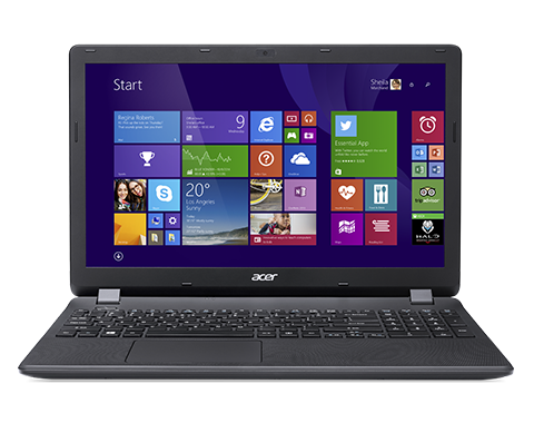 "Acer Aspire ES 15 (ES1-571-34Q7) i3-5005U/4GB+N/128 GB SSD+N/A/DVDRW/HD Graphics/15.6"" FHD matný/BT/Boot-up Linux/Black"