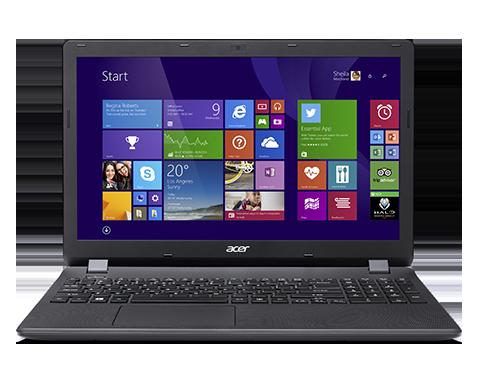 """Acer Aspire ES 15 (ES1-571-34Q7) i3-5005U/4GB+N/128 GB SSD+N/A/DVDRW/HD Graphics/15.6"""" FHD matný/BT/Boot-up Linux/Black"""