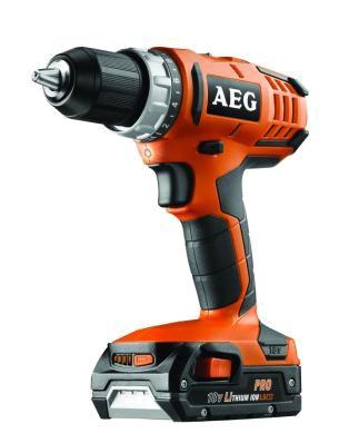 AEG BS 18 G2 (2x1,5 Ah PRO Li) Cordless Drill Driver