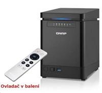 QNAP TS-453mini-2G TWR 4x 2.5/3.5 SATA Celeron 2.0 QC 2GB DDR3L 2xGlan