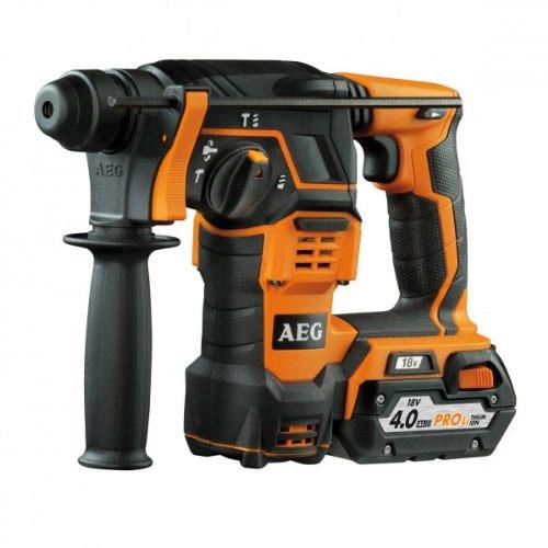 AEG BBH 18 (2x4,0 Ah PRO Li) Akku-combi hammer