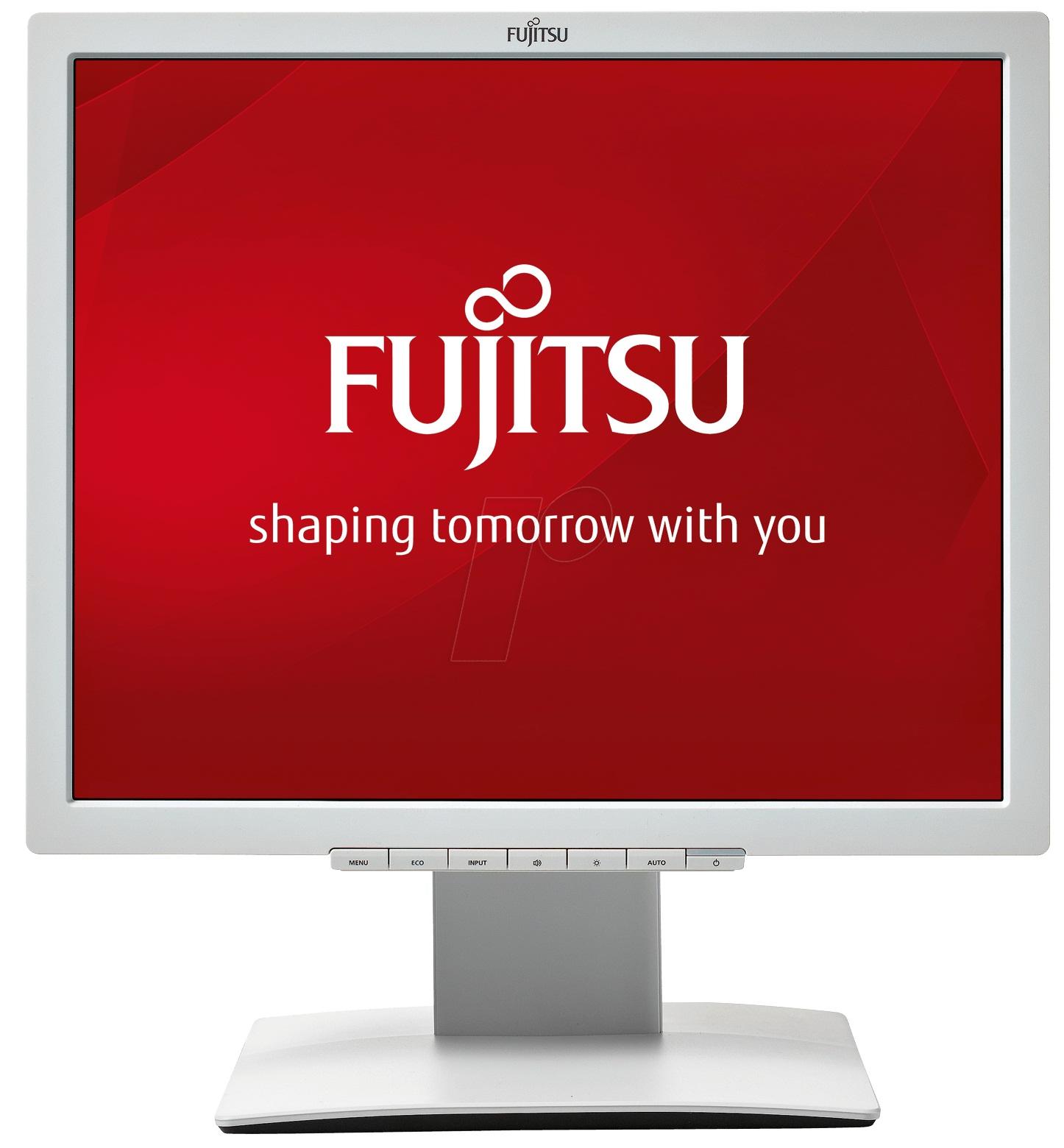 Fujitsu 19´´ B19-7 IPS LED 1280x1024/2M:1/5ms/250cd/DVI/VGA/4in1 stand/repro