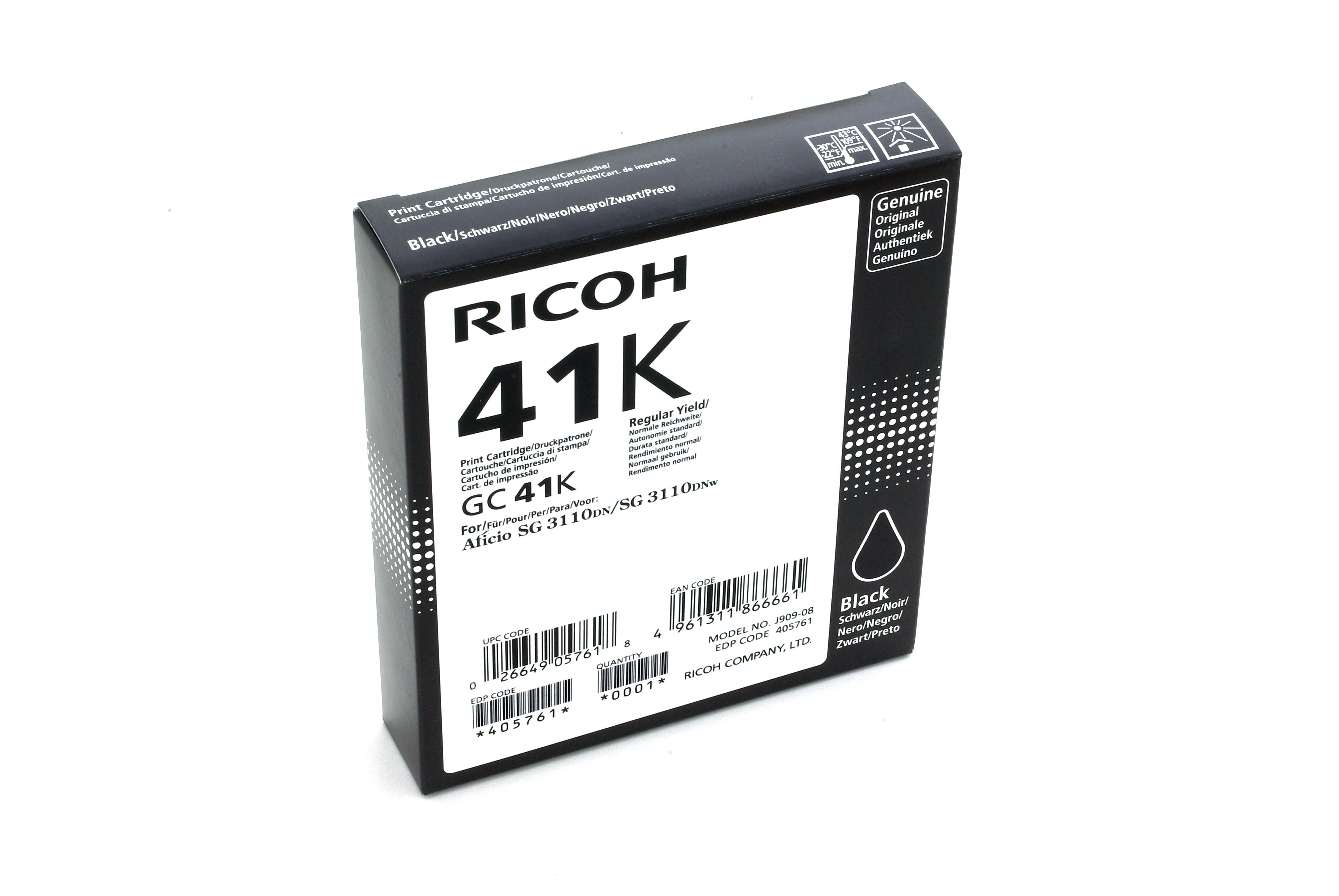 Ricoh - toner 405761 (SG 3110DN, 3110DNw, 3100SNw, 3110SFNw, 3120B SFNw, 7100DN, K3100DN) 2500 stran, černý