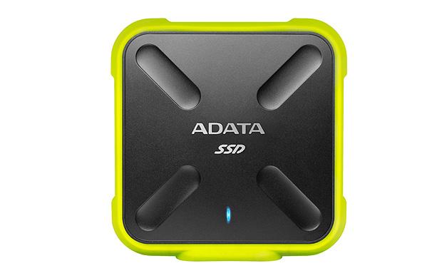 ADATA externí SSD SD700 256GB, 440/430MB/s, USB3.1, žlutá