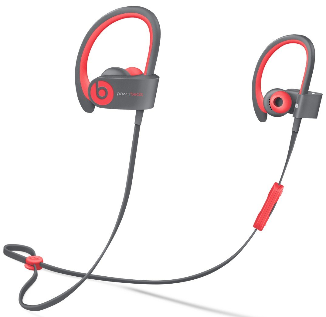 Beats Wireless In-Ear Headphones, Active - Red